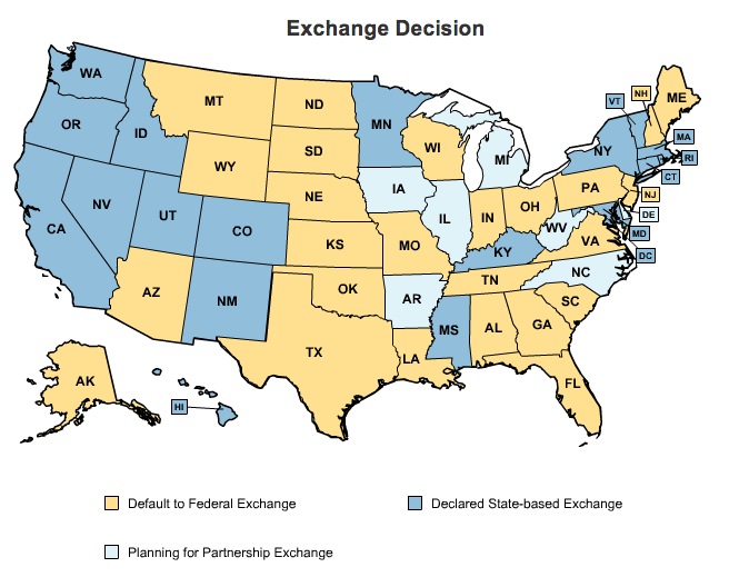 state-insurance-exchanges