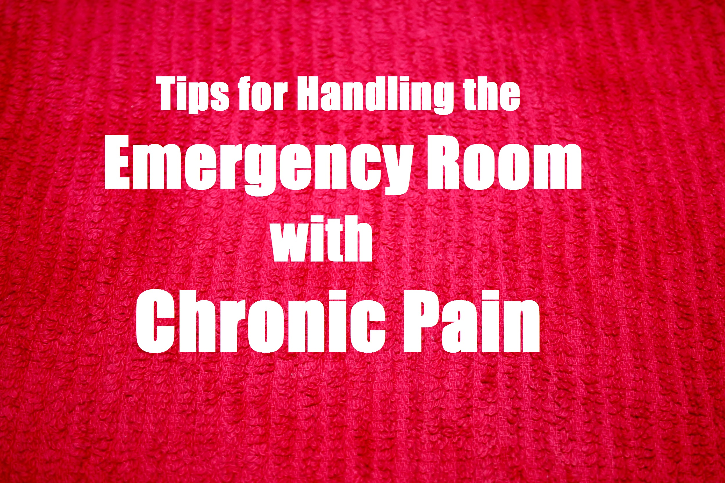 Chronic-Pain ER