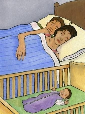 sids babyinbassinetnexttoparents
