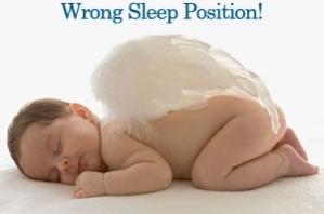 SIDS wrong sleep position