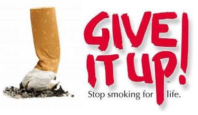 smoking give it up