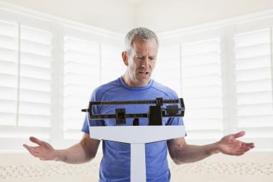 weight gaim while active