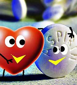 heart aspirin